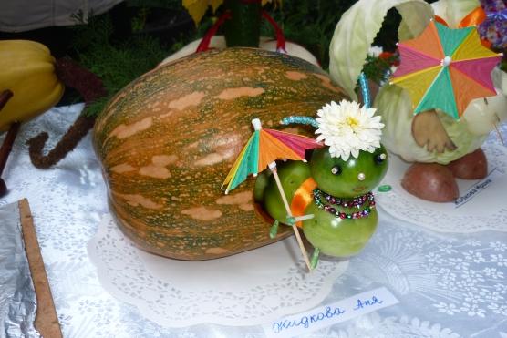 Поделка из овощей своими руками в детский сад
