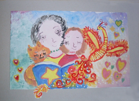 Рисование картинки маме к празднику 8 марта старшая группа, любимому