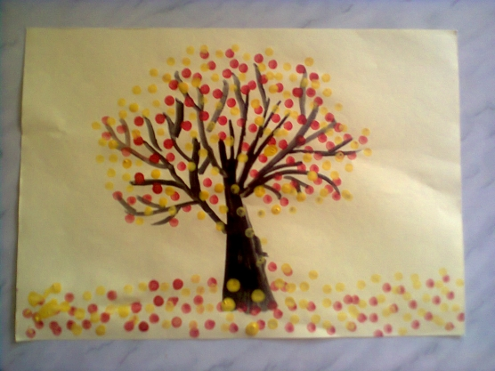 Картинки рисования осени