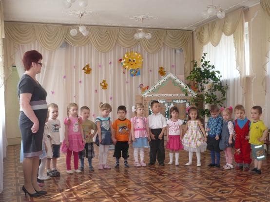Весенне развлечение во второй младшей группе.