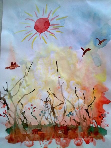 художественная деятельность дошкольников тема весна конспекты