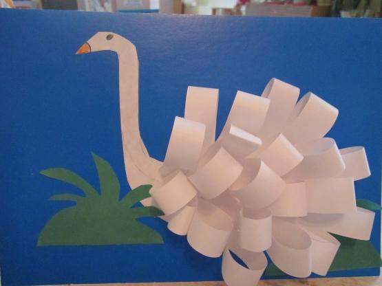 Поделки из бумаги в детском саду старшая