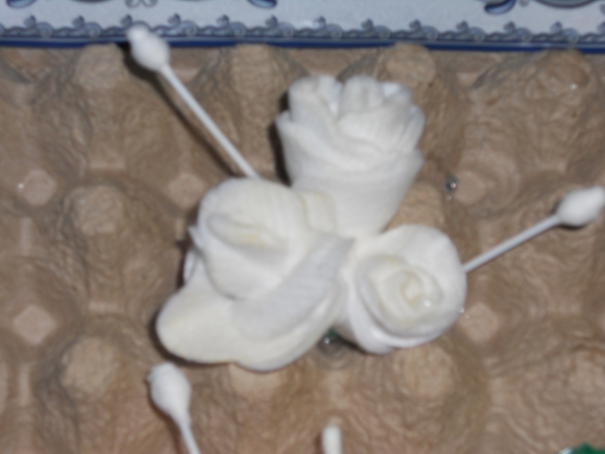 Как сделать розу из ватных дисков своими руками поэтапно