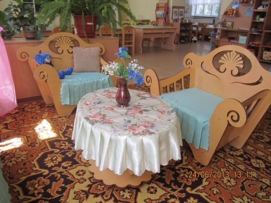 Содержание предметно-развивающей среды в старшей группе детского сада