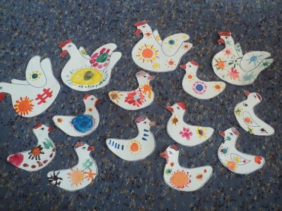 конспект занятия по декоративному рисованию во 2 мл группе дымковская утка