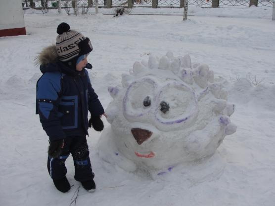 Фигурки из снега своими руками картинки