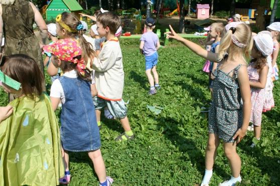 знакомство с детьми в доу средняя группа