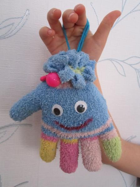 Осьминоги из перчаток своими руками