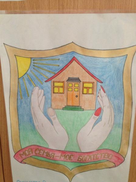 Нарисуй герб своей семьи рисунки