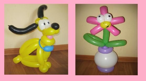 Фигуры из воздушных шаров мастер