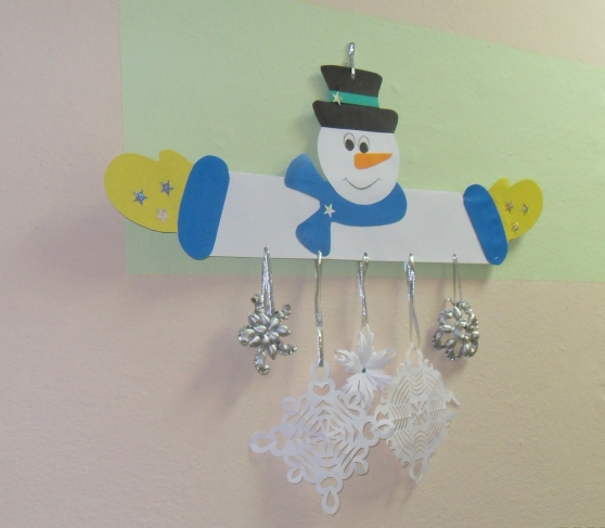 Новогодние мобили своими руками для детского сада