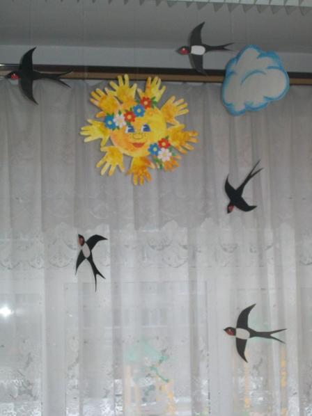 Поделка перелётные птицы своими
