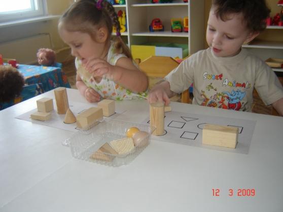 знакомство детей с геометрическими телами