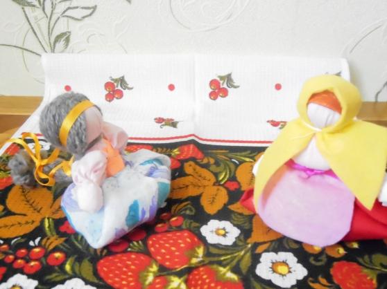 Мастер-класс: кукла-оберег «Счастье». Поделки на масленицу