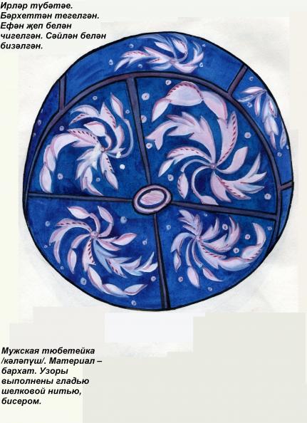 знакомство с татарским орнаментом в детском саду
