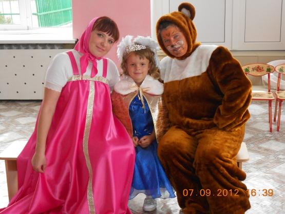 Сценарий детского дня рождения «Маша и медведь»