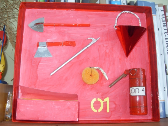 Пожарный щит своими руками - подробная схема с описанием и фото