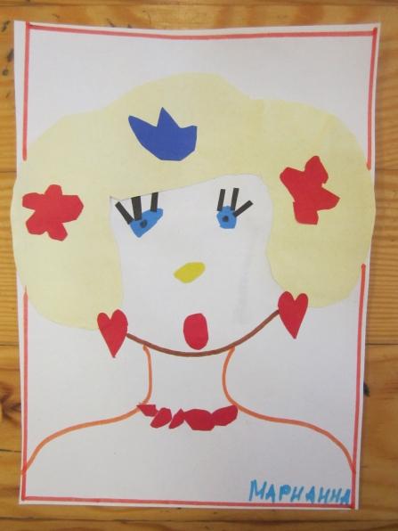 знакомство дошкольников с искусством портретной живописи