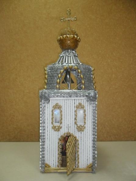 Храм из макарон своими руками пошагово