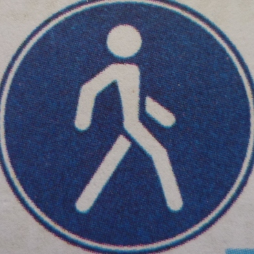 если пешеходный переход не обозначен знаком
