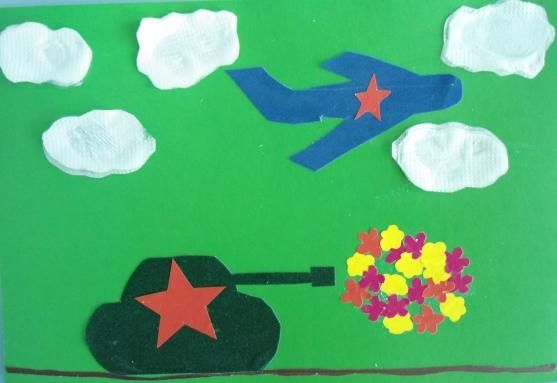 Детские поделки на 9 мая в детский сад своими руками