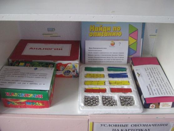 «Математическая игротека» Разработка дидактического материала.