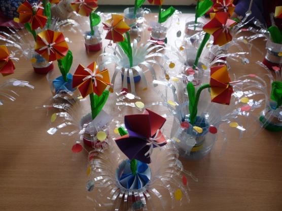 Фонтан поделка для детского сада