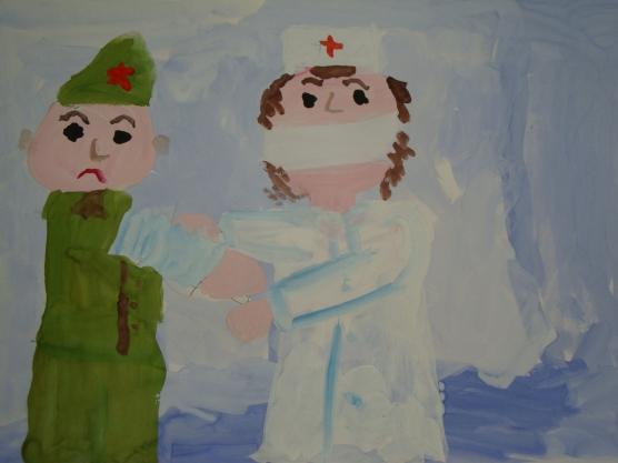 огонь и вода в детских рисунках