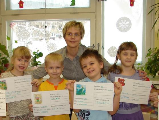 знакомство детей с профессиями в подготовительной группе