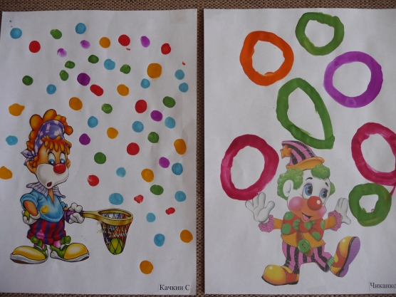 Образцы для рисования в средней группе