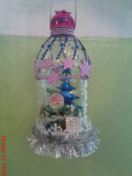 Елочная игрушка поделка для детского сада