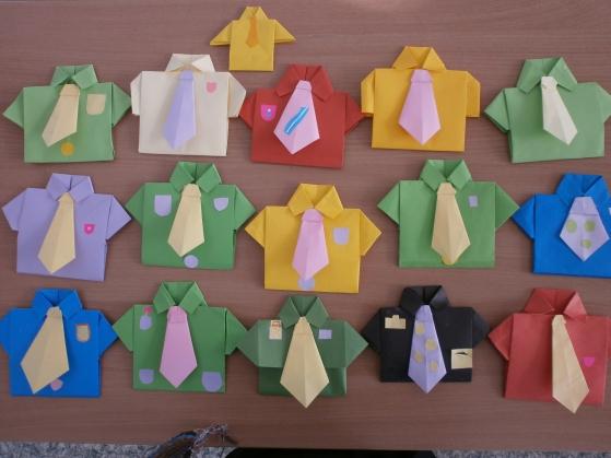Открытка оригами на 23 февраля в старшей группе