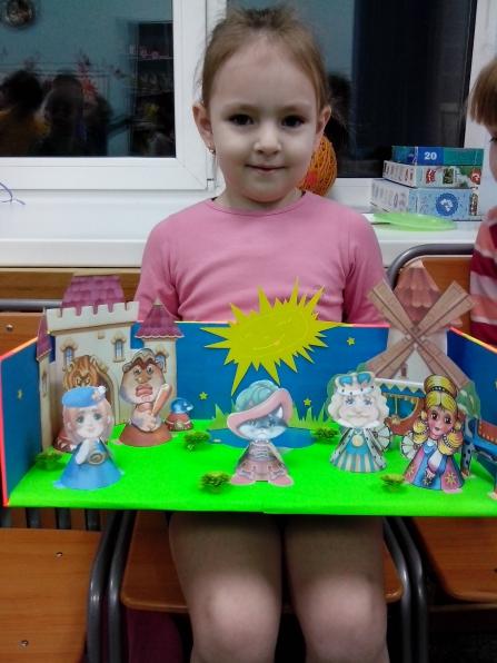 Выставка детских поделок к каникулярной неделе «В гостях у сказки»