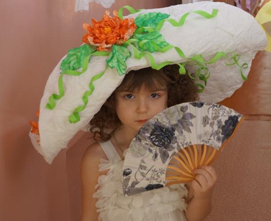 Как сделать шляпку для конкурса в садик 5