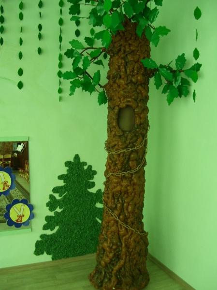 Объёмное дерево для детского сада