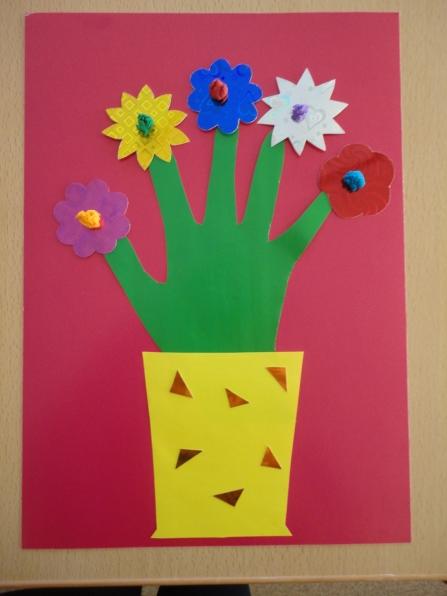 Цветы для аппликации шаблоны - 48b4