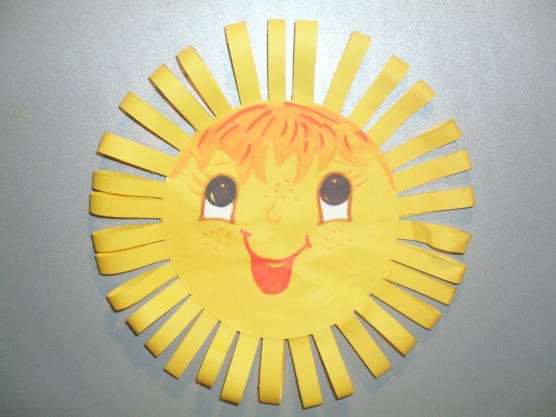 Поделка Сделать поделку солнышко в детский сад