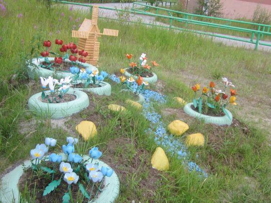 Оформление участка сада своими руками фото