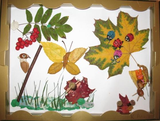 Поделки на тему осень для детского сада своими руками