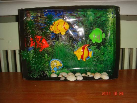 Аквариум в детский сад своими руками 7