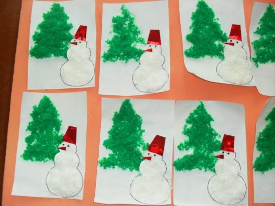 приготовления открытка новогодняя с детьми средней группы гормональный фон, щитовидная
