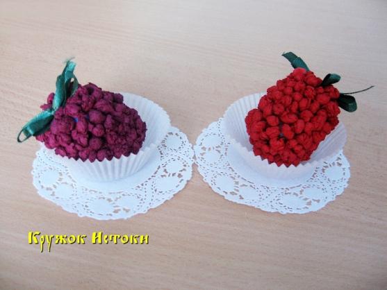 Поделки ягоды для детского сада