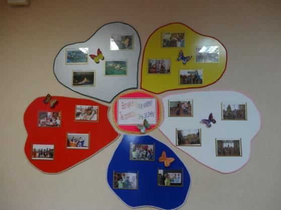 Оформление стенда с фото в детском саду своими руками