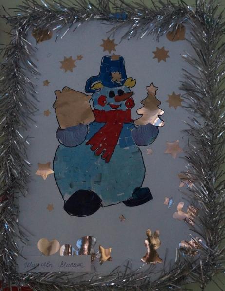 Открытки и рисунки детей к Новому году!