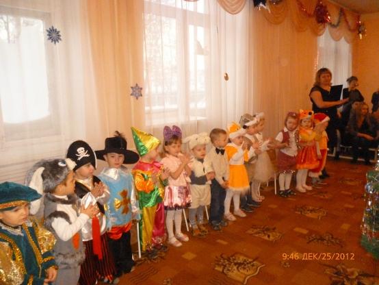 Сценарий нового года детей дошкольного возраста