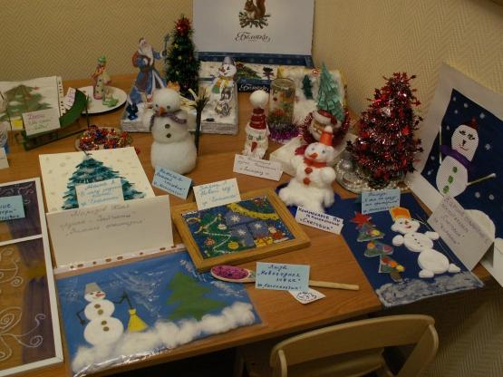 Выставки поделок в детском саду к новому году