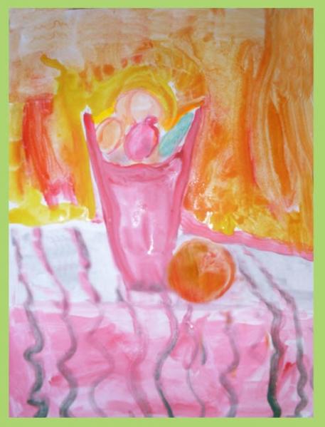 знакомство с жанрами живописи в детском саду