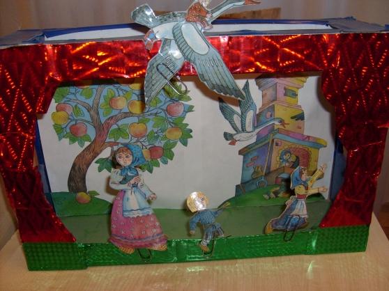 Как из коробки сделать кукольный театр своими руками