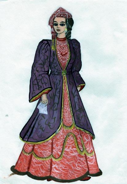 Рисунок татарского