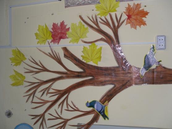 Оформление дерево своими руками в детском саду
